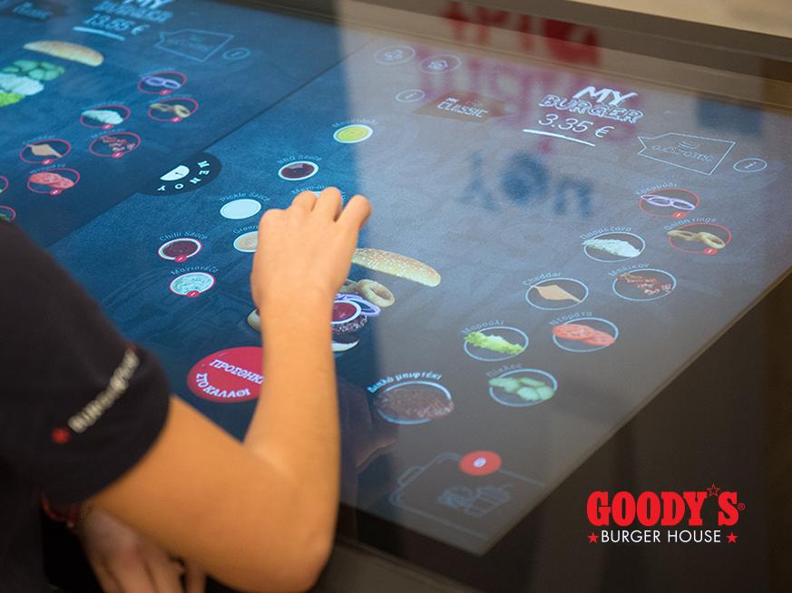 Goody's Interactive Ordering